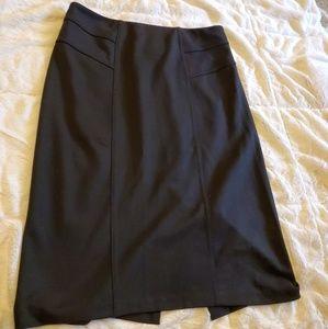 New York & Company Stretch Black Skirt